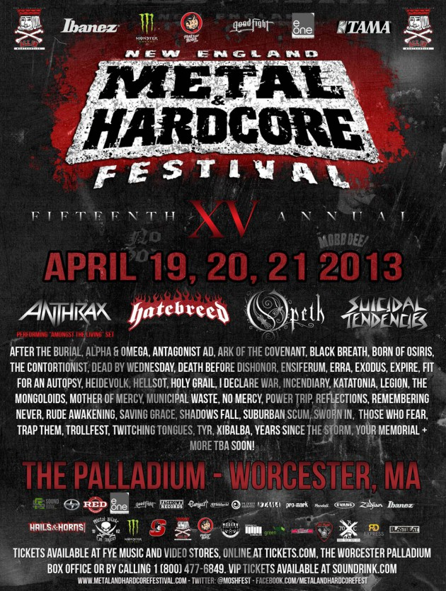 New England Metal And Hardcore Festival 2013